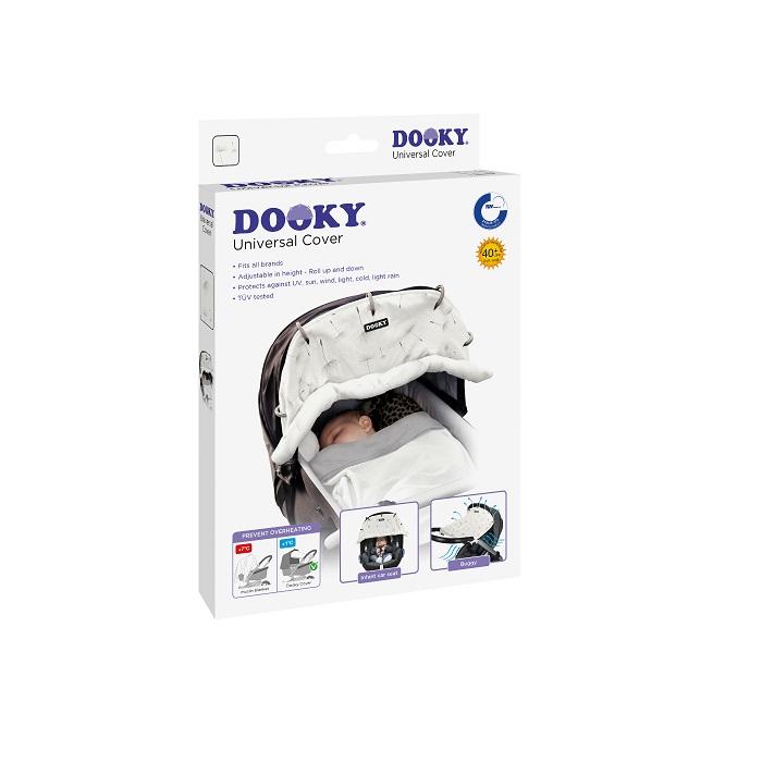 Vaunuverho Dooky Dandelions valkoinen