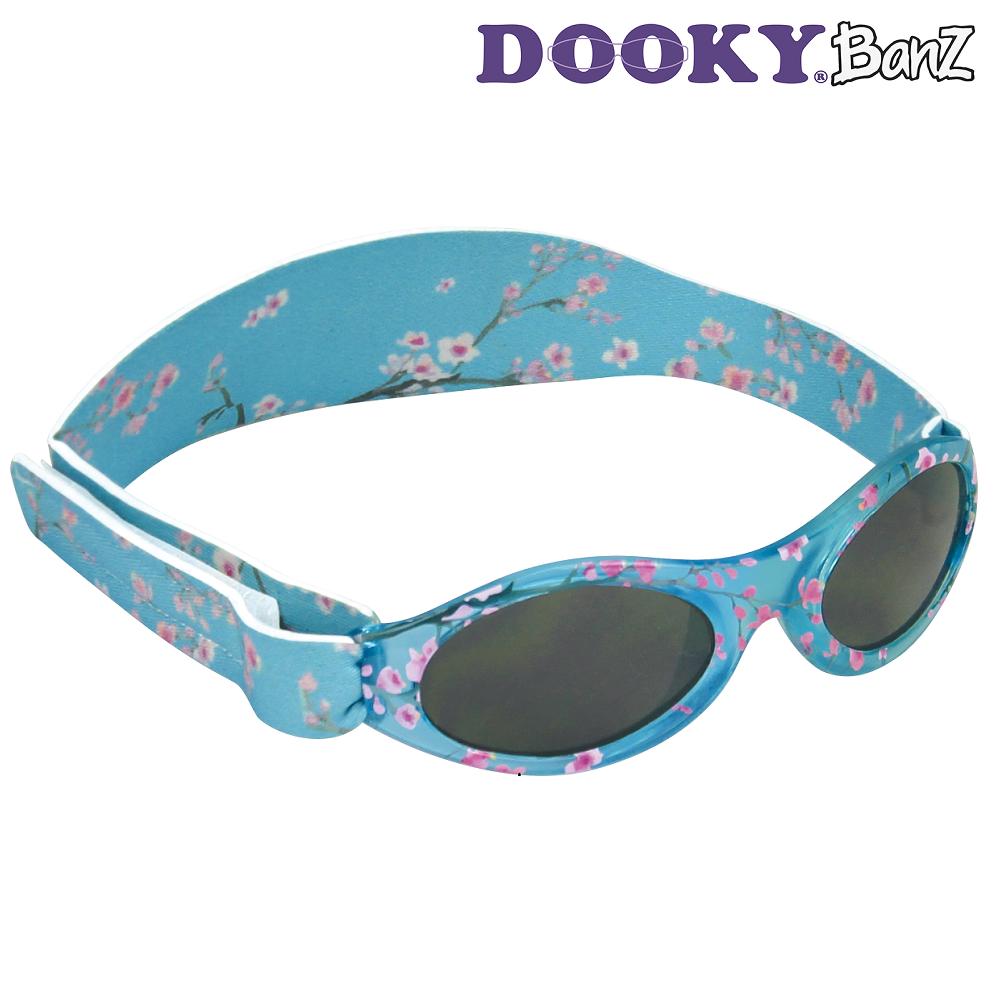 Vauvan aurinkolasit DookyBanz sininen Cherryblossom