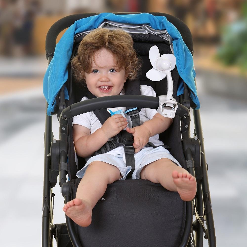 Dreambaby Stroller Fan White