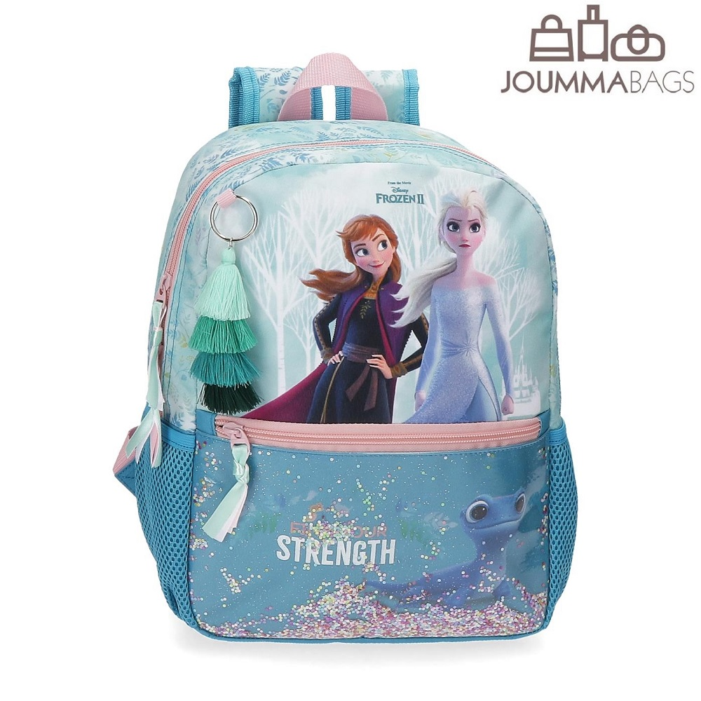 Lasten paivareppu Frozen II Find Your Strength 32cm vaaleansininen
