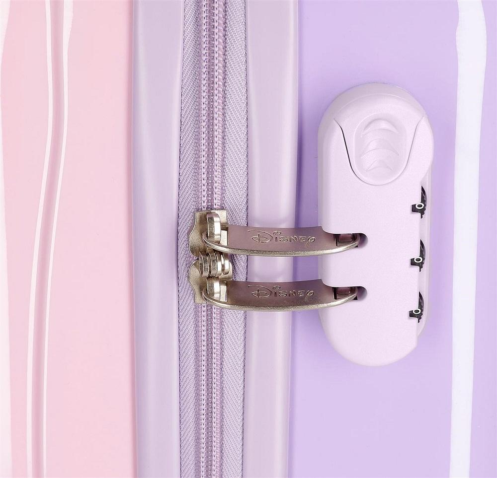Lasten matkalaukku pyorilla Frozen vaaleanpunainen