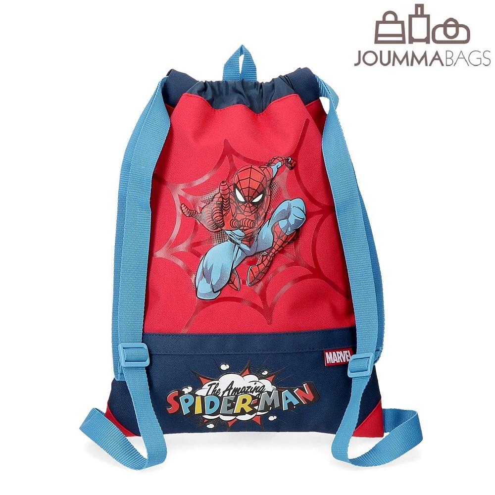 Lasten nyorikassi Spiderman punainen ja sininen