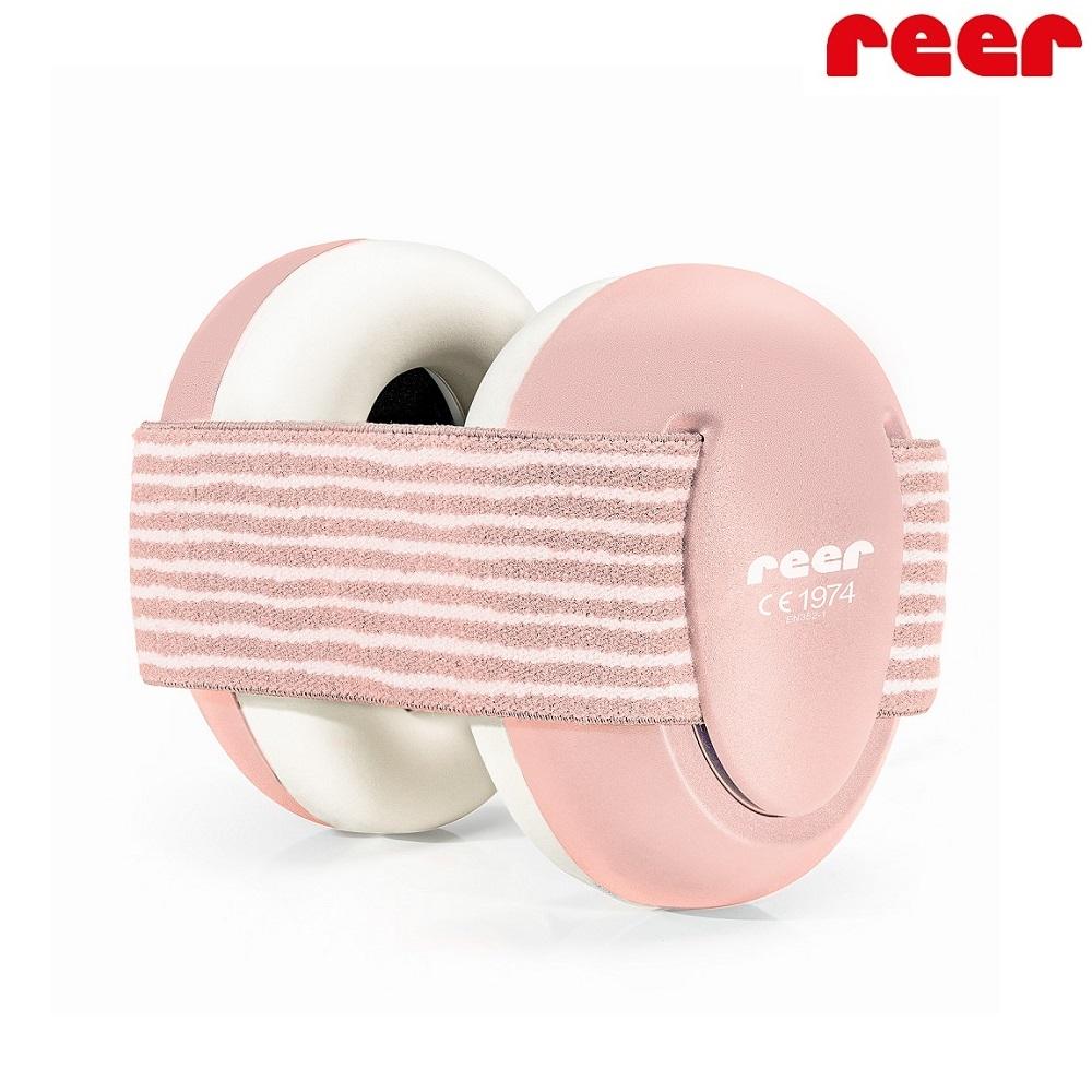 Vauvan kuulonsuojaimet Reer SilenceGuard Pink