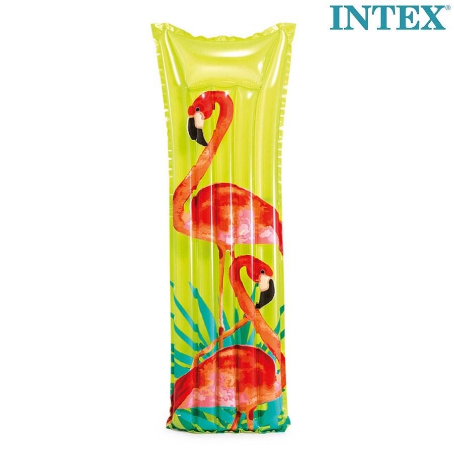 Lasten uimapatja puhallettava Intex Tropical