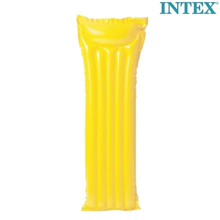 Lasten uimapatja Intex keltainen