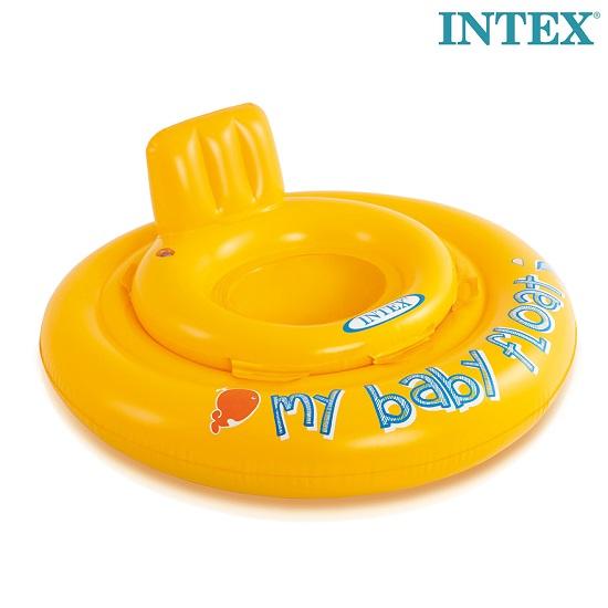 Badstol Intex Baby Gul 0-1 år