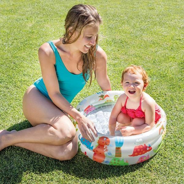 Puhallettava lasten uima-allas Intex Dino