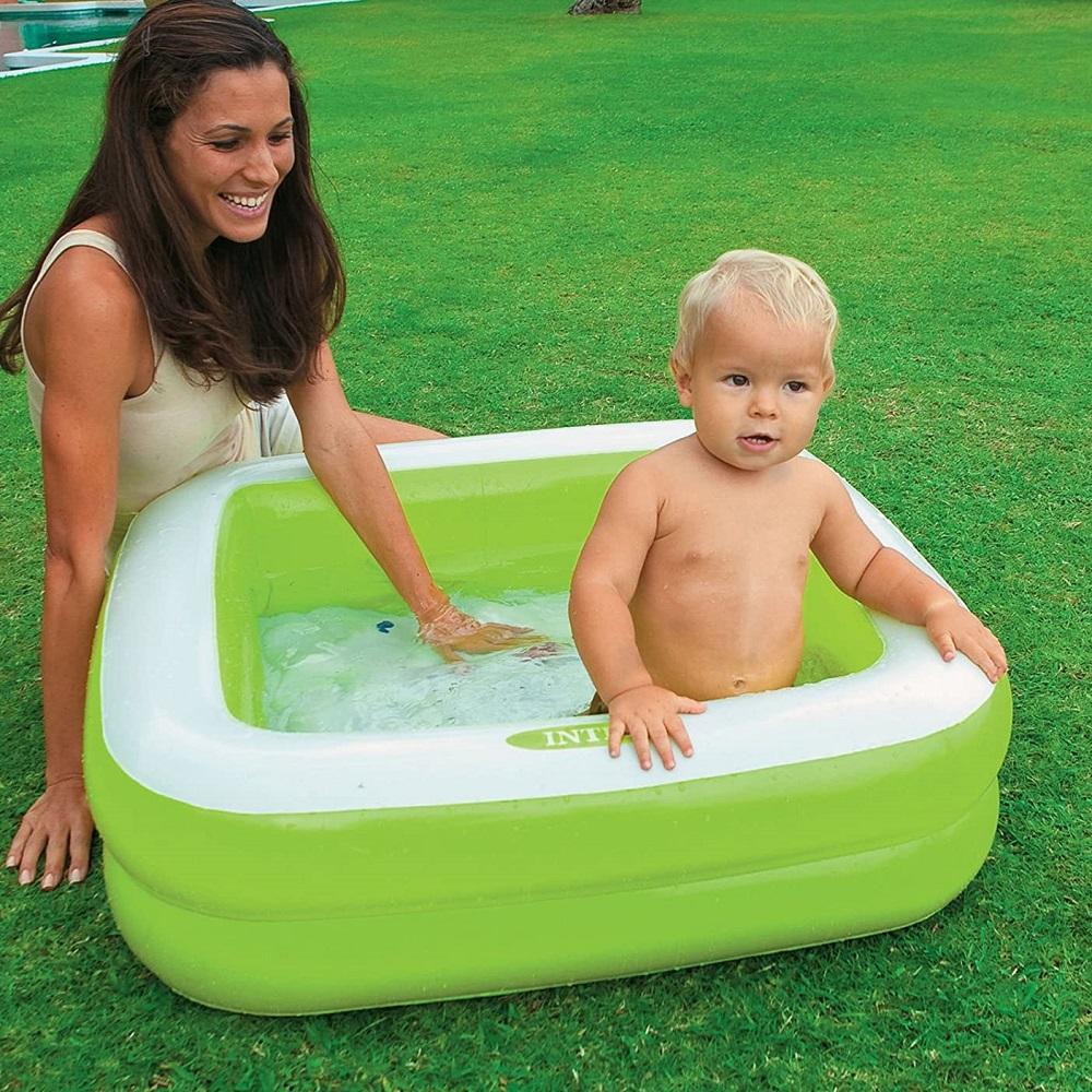 Puhallettava lasten uima-allas Intex Vihreä