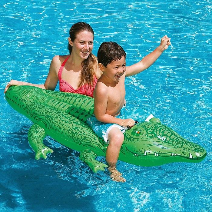 Lasten uimapatja XL Intex Alligaattori