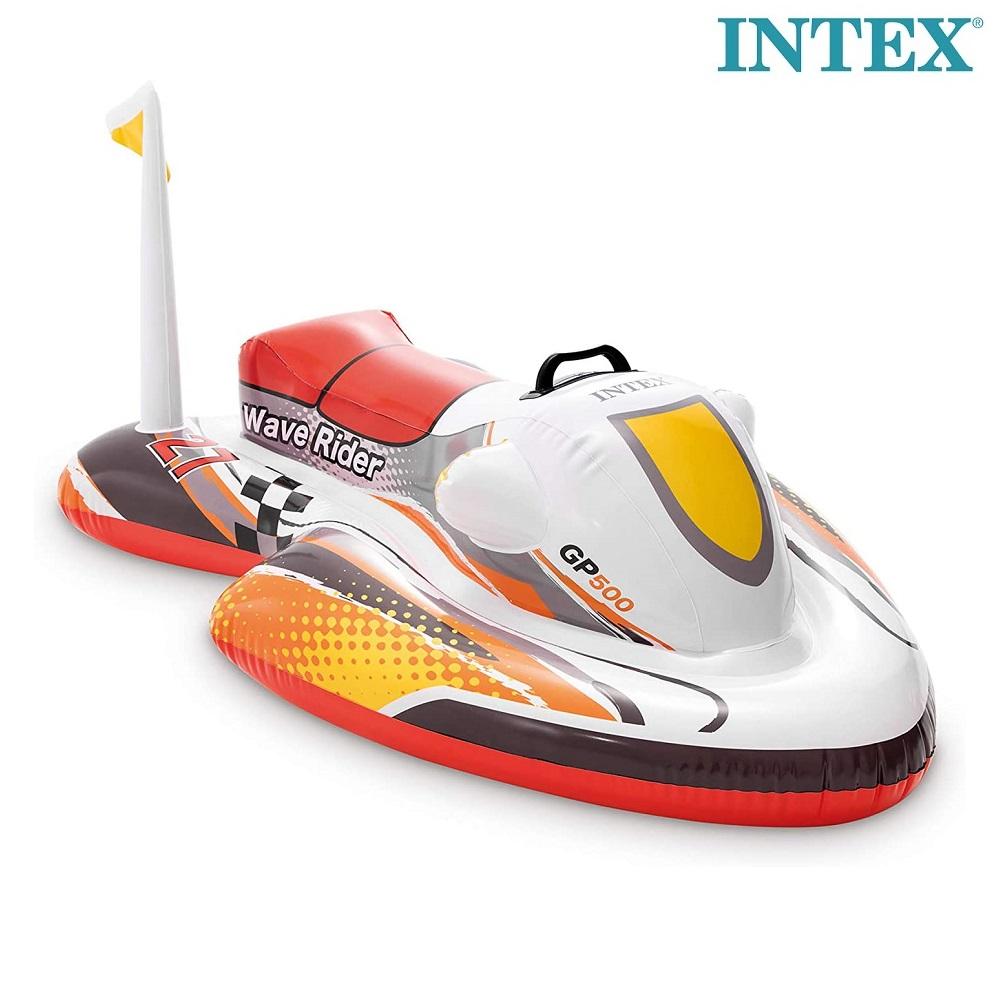 Lasten vesilelu skootteri Intex  Ride-on Wave Rider punainen
