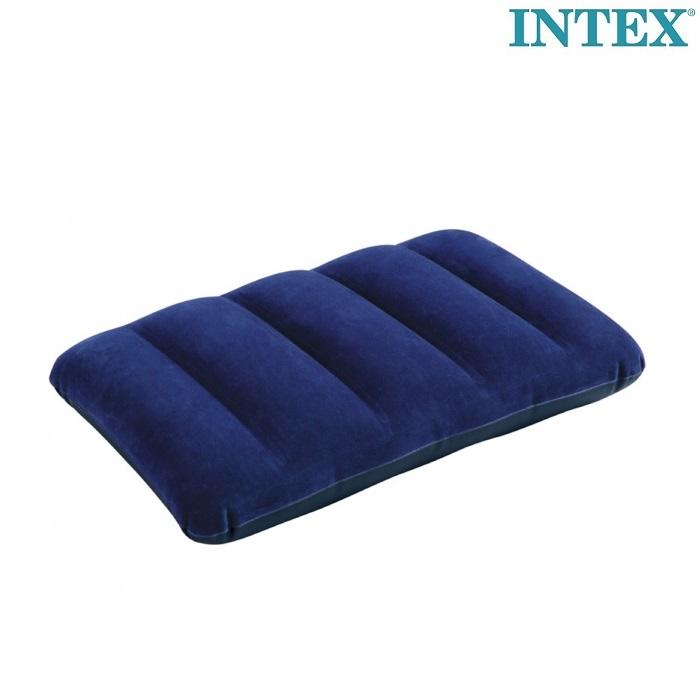 Lasten puhallettava matkatyyny Intex sininen