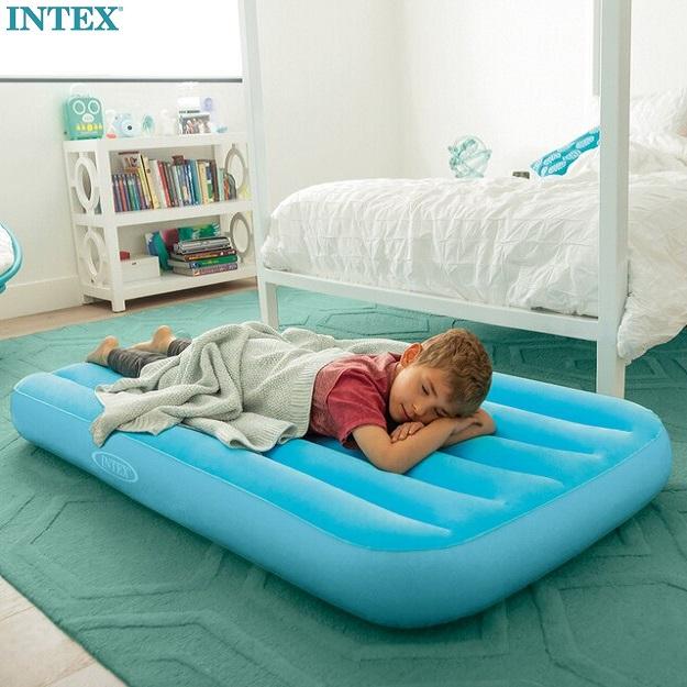 Lasten ilmapatja Intex Cozy Kidz sininen
