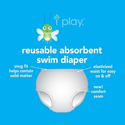 Iplay Diaper Swimshorts