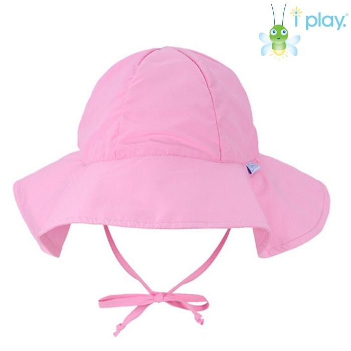 Lasten UV aurinkohattu Iplay vaaleanpunainen