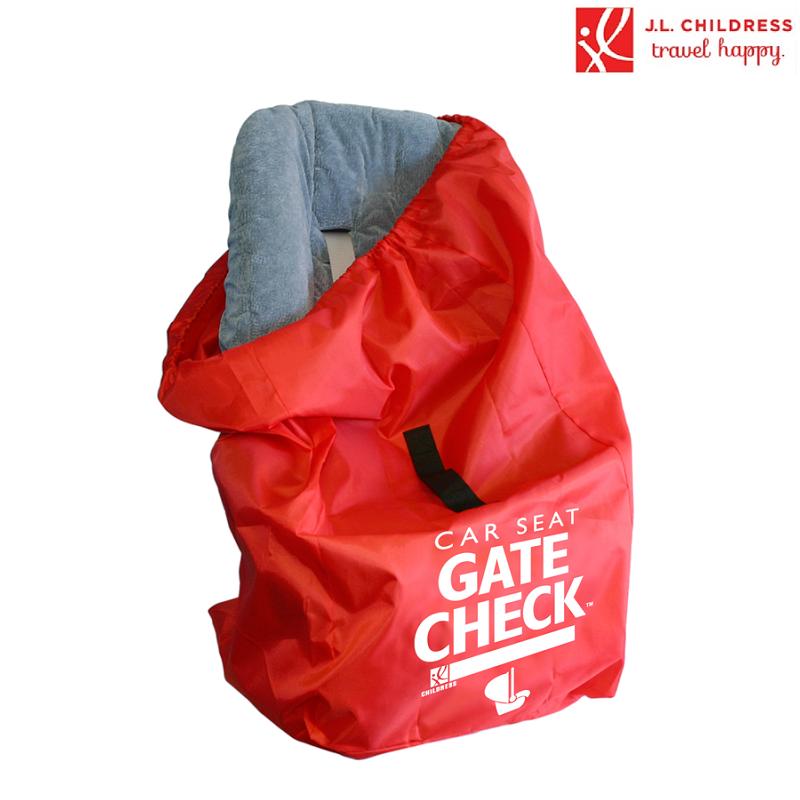 Kuljetuslaukku turvakaukalolle Gate Check punainen
