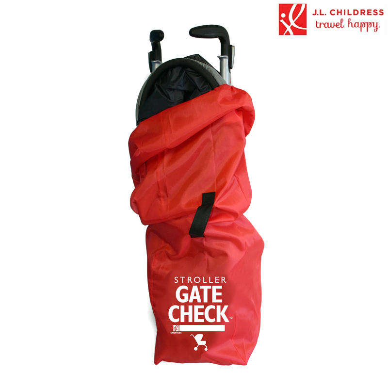 Kuljetuslaukku sateenvarjo rattaille Gate Check punainen