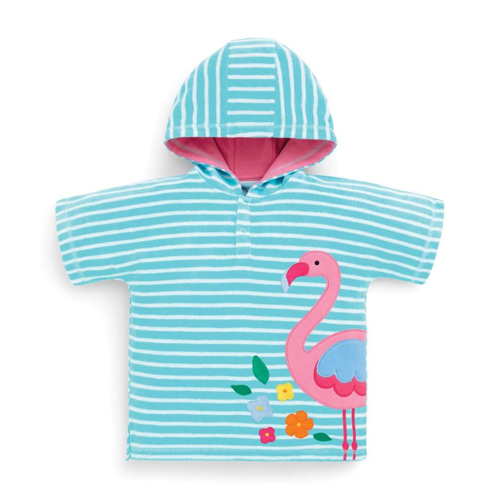 Lasten huppupyyhe Jojo Maman Bebe Flamingo vaaleansinineny