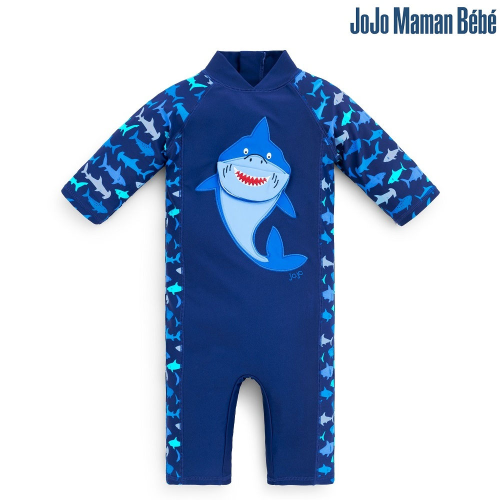 Lasten Uv uimapuku Jojo Maman Bebe Hai sininen