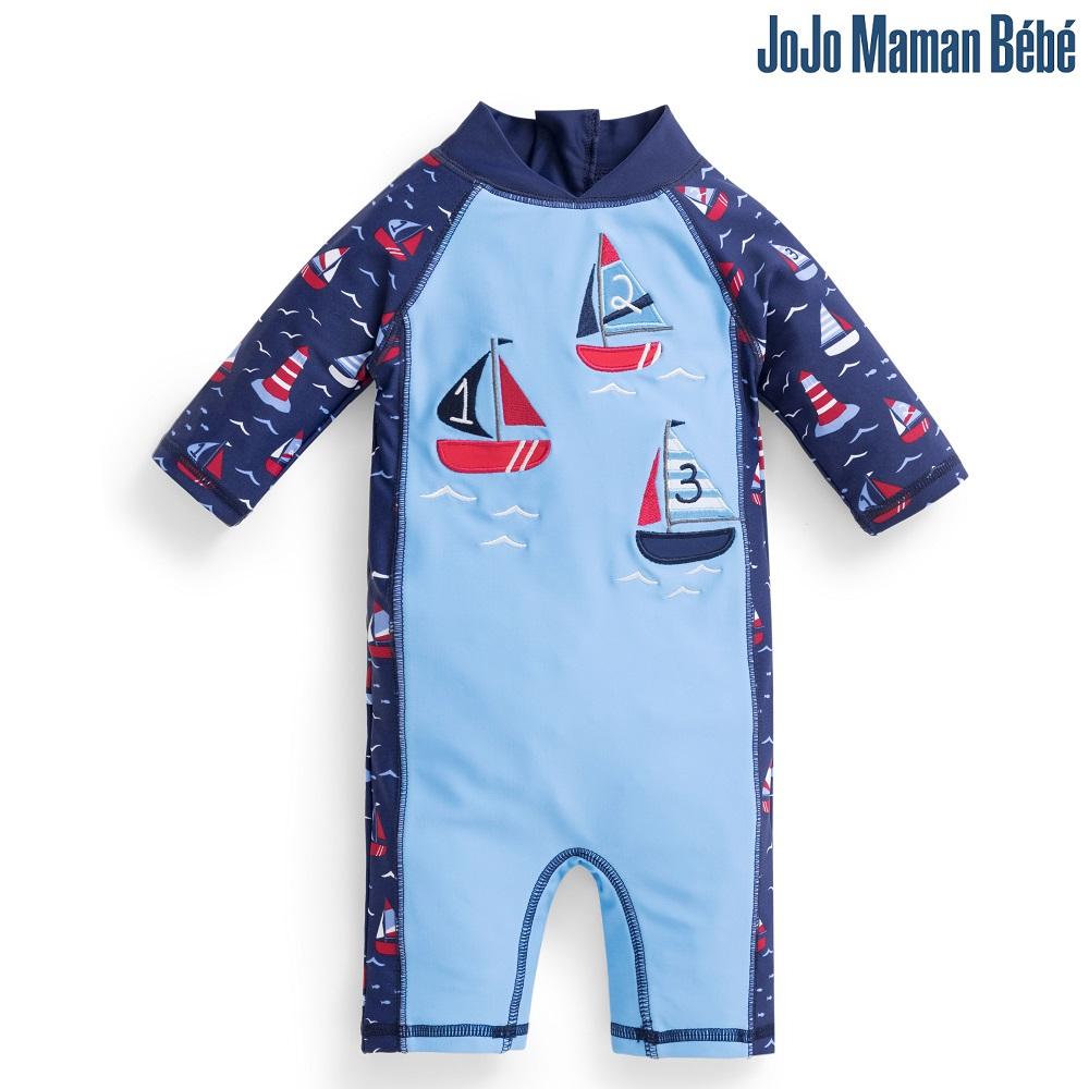 Lasten Uv uimapuku Jojo Maman Bebe Venet sininen