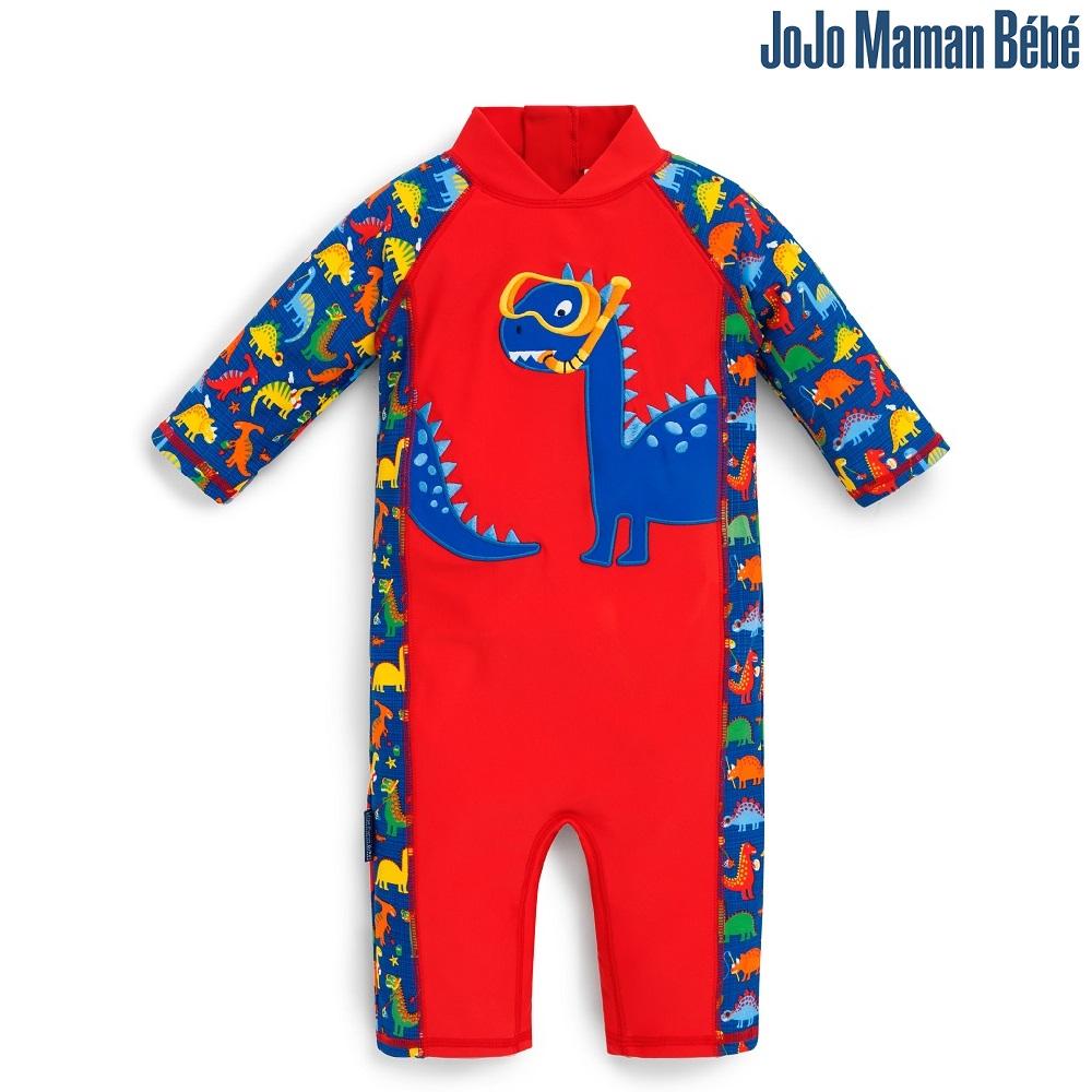 Lasten Uv uimapuku Jojo Maman Bebe Dino punainen