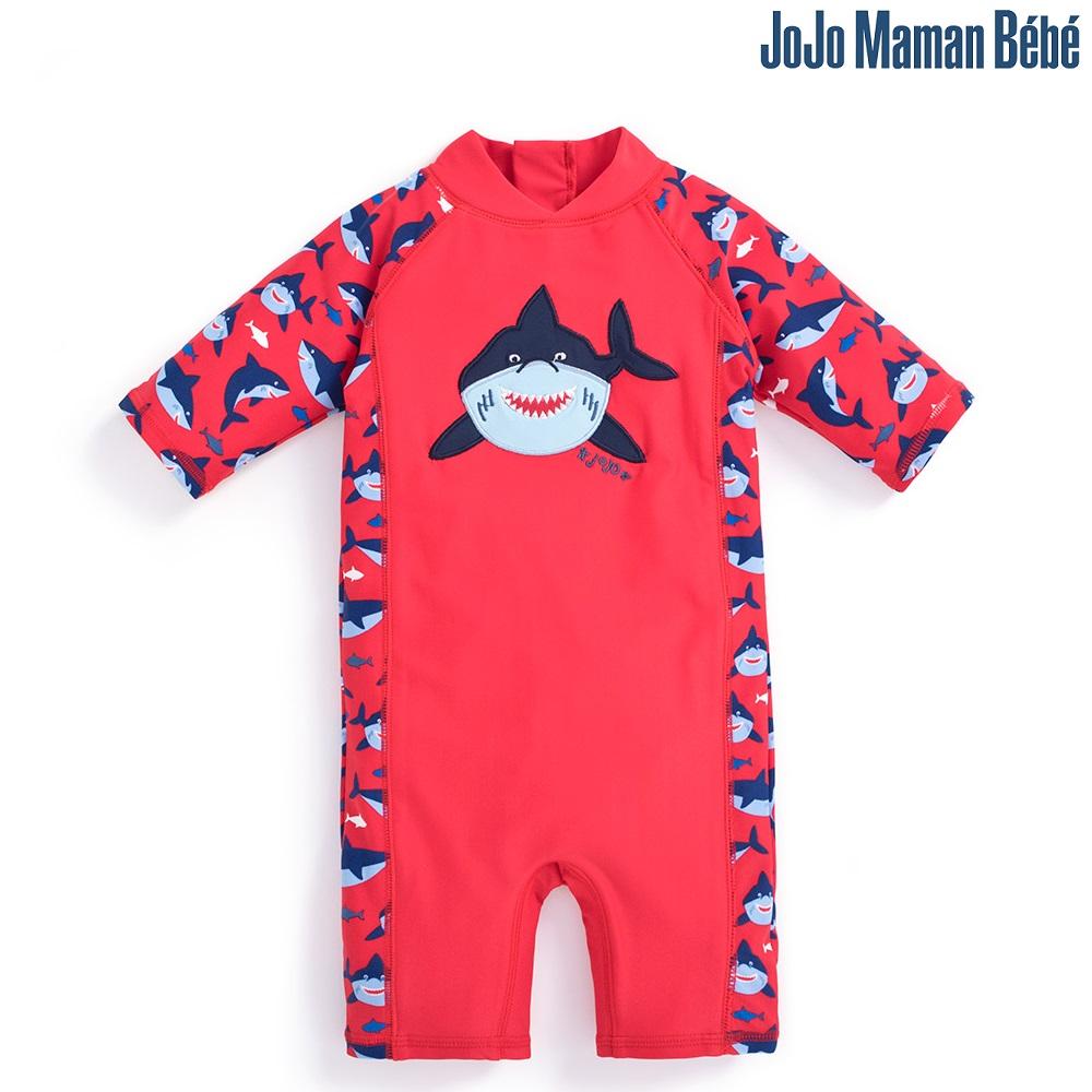 Lasten Uv uimapuku Jojo Maman Bebe Hai punainen
