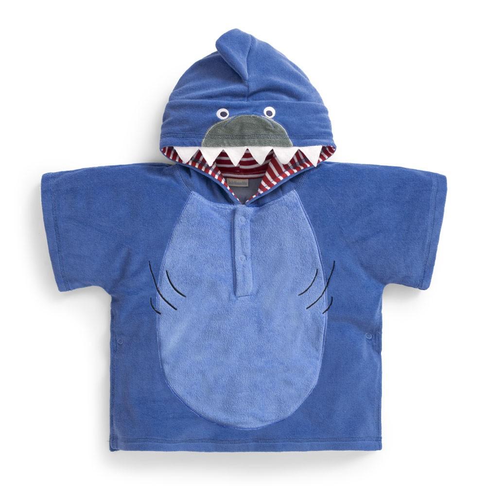Lasten huppupyyhe Jojo Maman Bebe Hai sininen