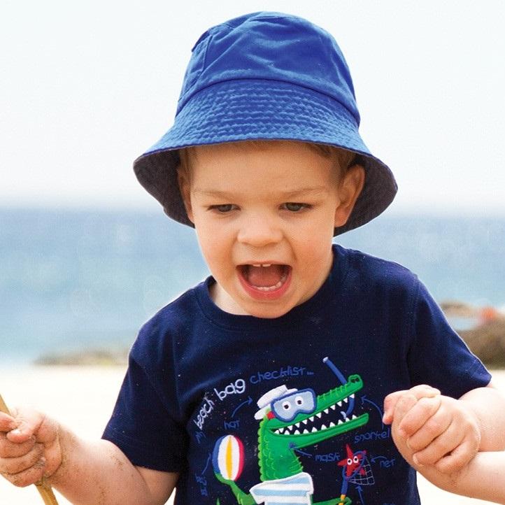 Lasten aurinkohattu Jojo Maman Bebe sininen