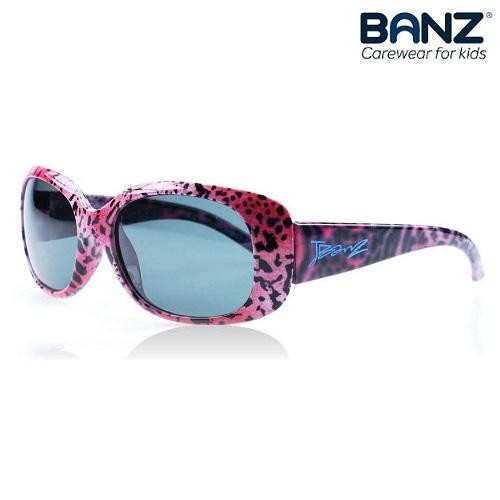 Lasten aurinkolasit JuniorBanz Pink Leopard