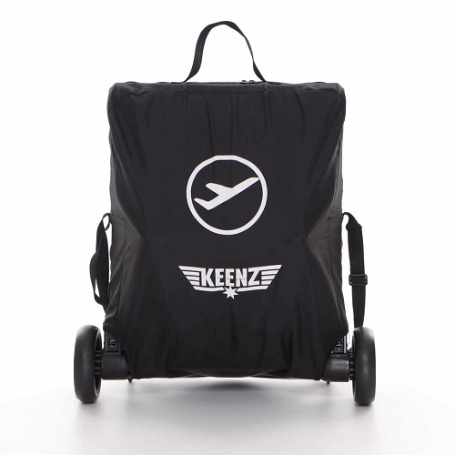Matkarattaat Keenz Air Plus 2.0 musta