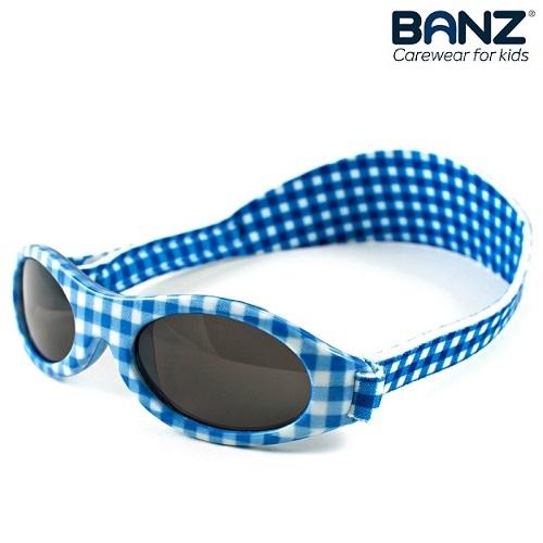 Lasten aurinkolasit KidzBanz blue Chequers