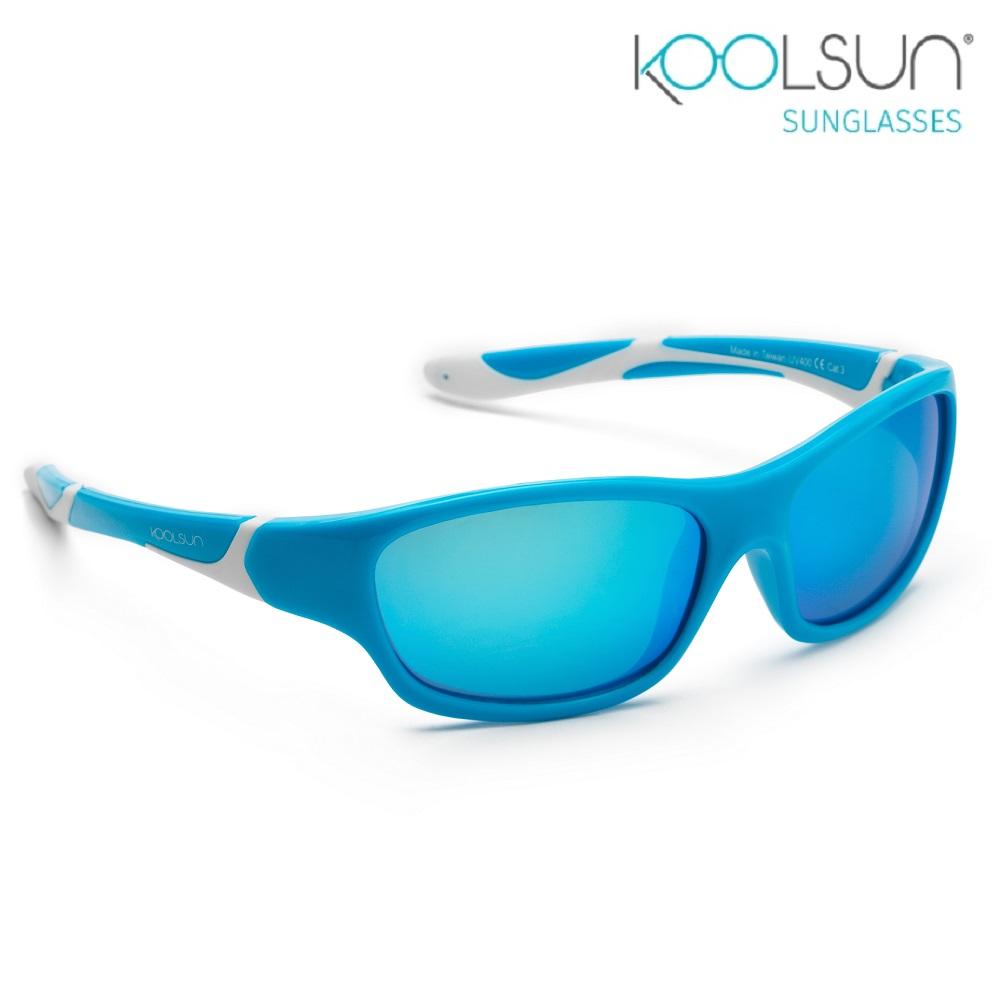 Lasten Aurinkolasit Koolsun Sport Aqua White