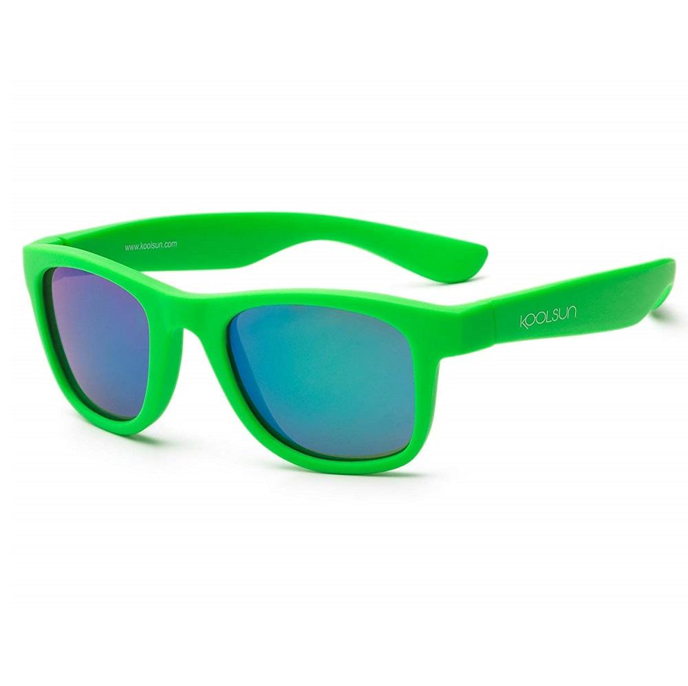 Lasten Aurinkolasit Koolsun Wave Neon Green