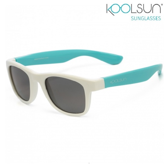Lasten Aurinkolasit Koolsun Wave White Aquarius