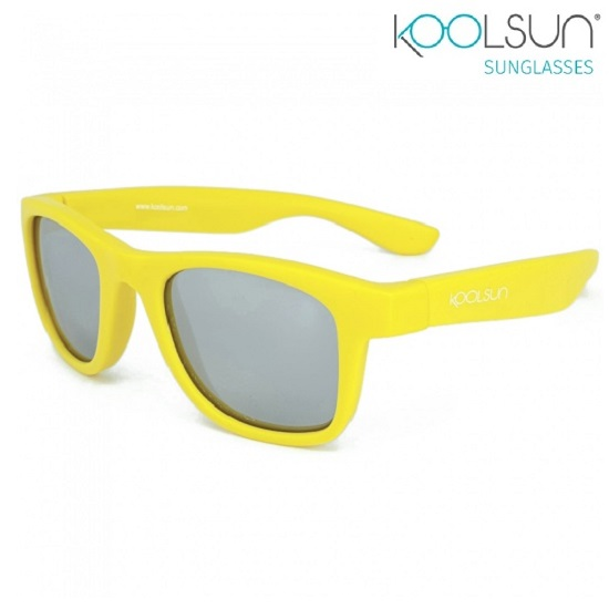 Lasten Aurinkolasit Koolsun Wave Empire Yellow