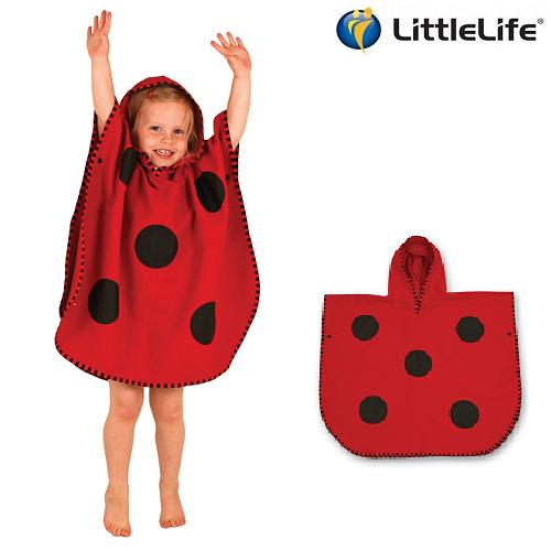 LittleLife Lasten Huppupyyhe - Leppäkerttu
