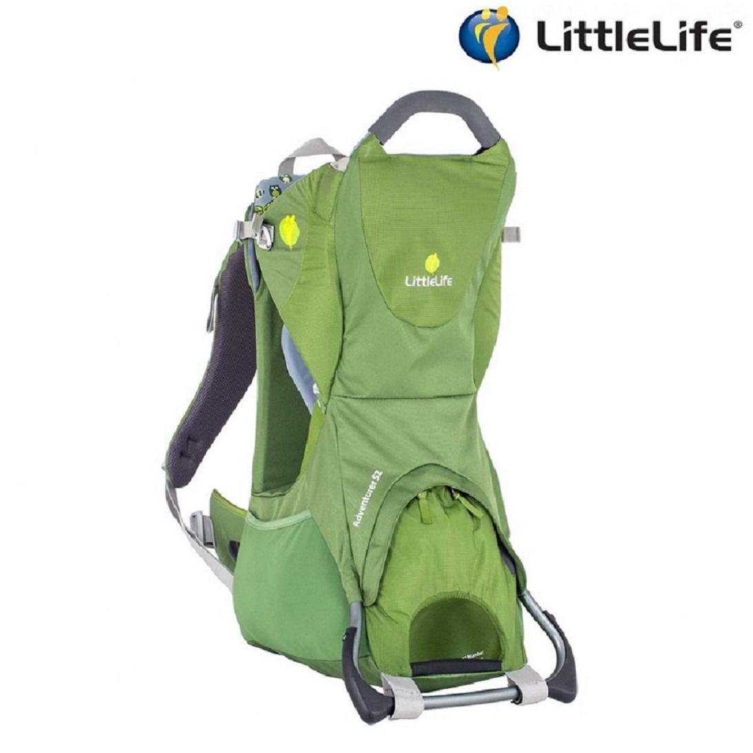Bärstol Littlelife Advernturer S2 grön