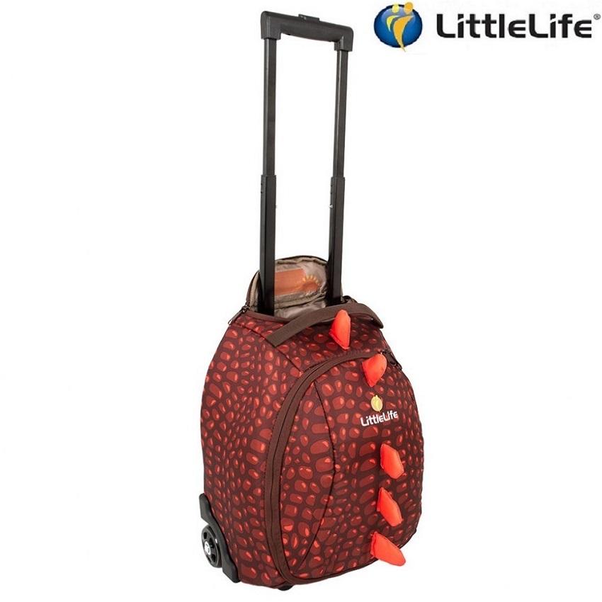 Lasten matkalaukku LittleLife Wheelie Duffle Spike