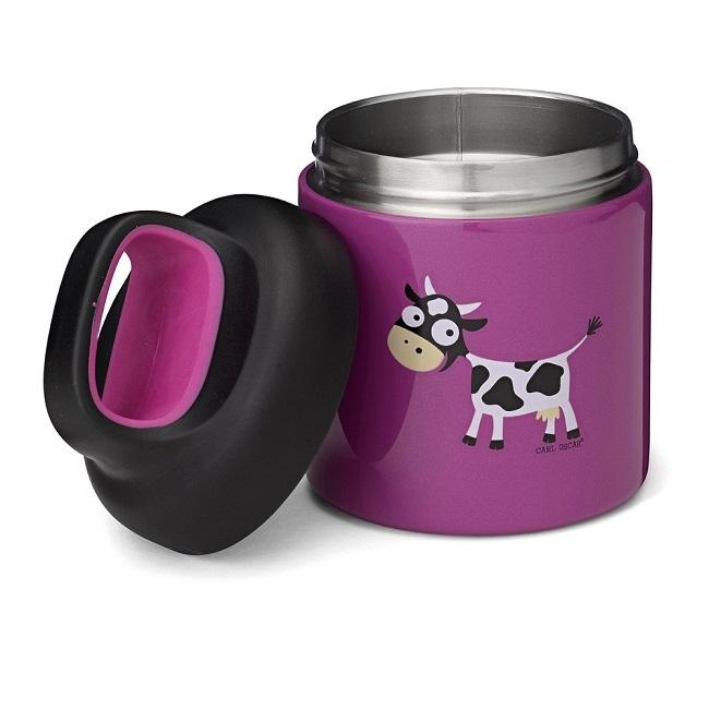 Mattermos barn Carl Oscar Lunchjar Purple Cow