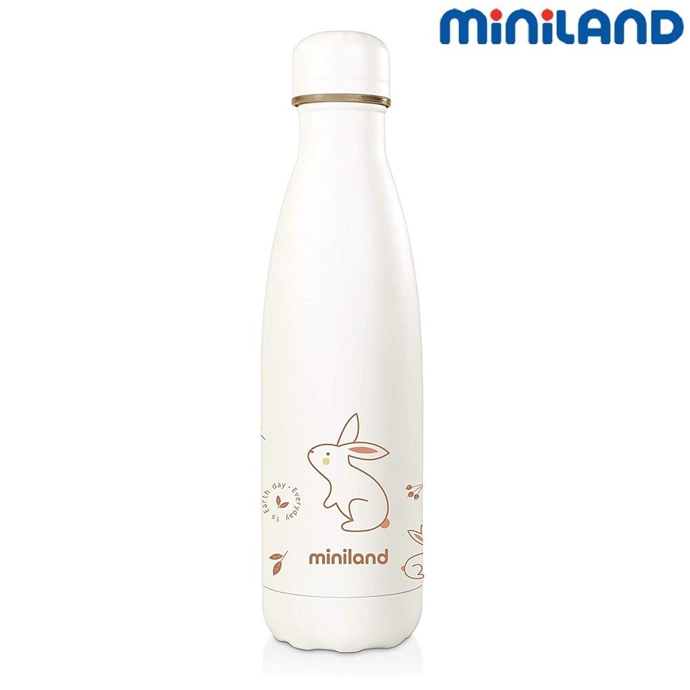 Miniland Natur Bottle - Bunny