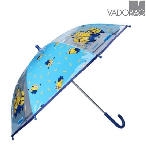 Lasten sateenvarjo Minions Umbrella Party