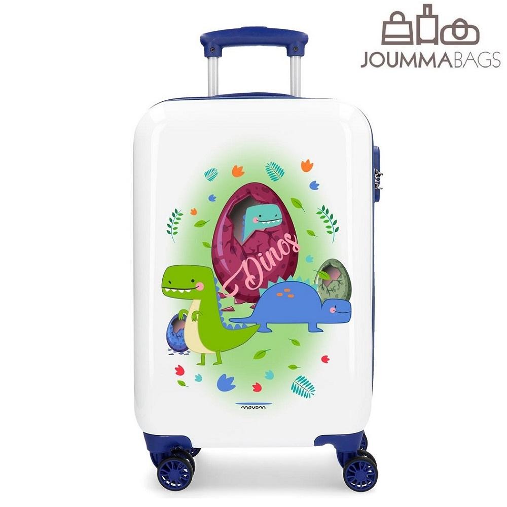Lasten matkalaukku Movom Dino ABS