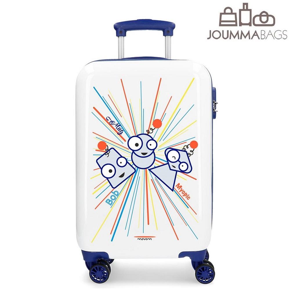 Lasten matkalaukku Movom Myopic ABS