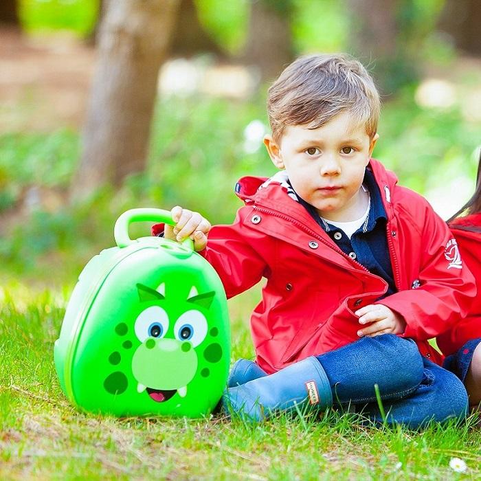 Matkapotta My Carry potty dinosaurio vihrea