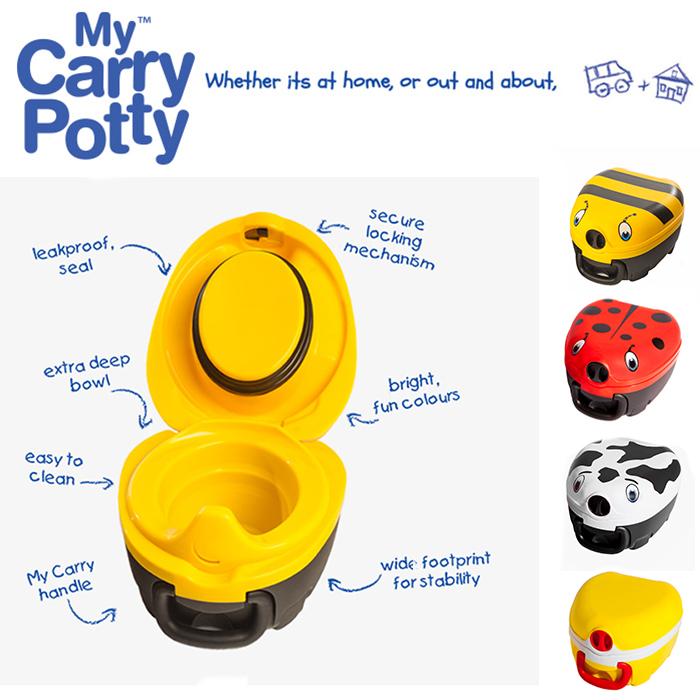 Matkapotta My Carry potty mehilainen keltainen