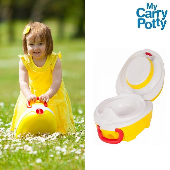 Matkapotta My Carry Potty keltainen