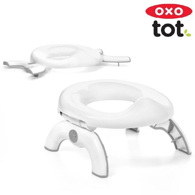 OXO Go Potty Potta ja WC-Supistaja - Grey