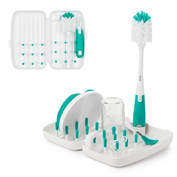 Portabelt diskställ OXO-Tot On the Go Drying Rack Teal