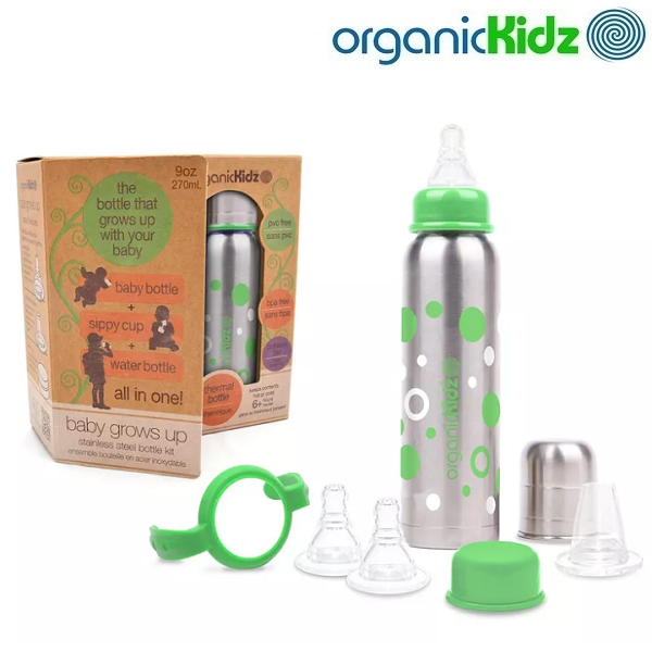 OrganicKidz Baby Grows Up