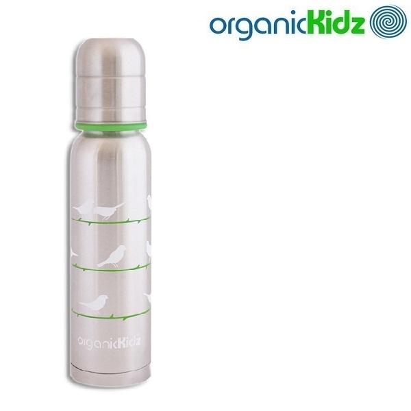 OrganicKidz Termos-tuttipullo - Chirpy