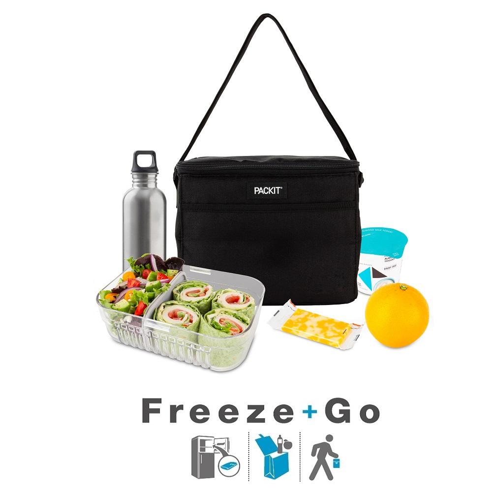 Liten kylväska Packit Every Day Lunch Bag svart